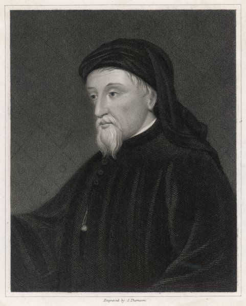 GEOFFREY CHAUCER English poet, writer of The Canterbury Tales