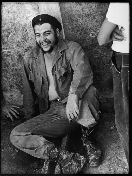 ERNESTO GUEVARA Known as CHE GUEVARA Latin American guerrilla leader and revolutionary theorist. Relaxing after a voluntary working Sunday. *UNAVAILABLE FOR USE IN ASIA AT PRESENT*