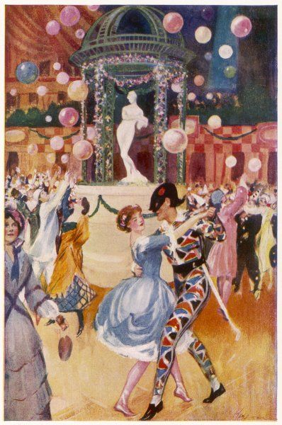 The Chelsea Arts Ball, held annually at the Albert Hall, London 'the gayest and most characteristic of our English artists' revels&#39