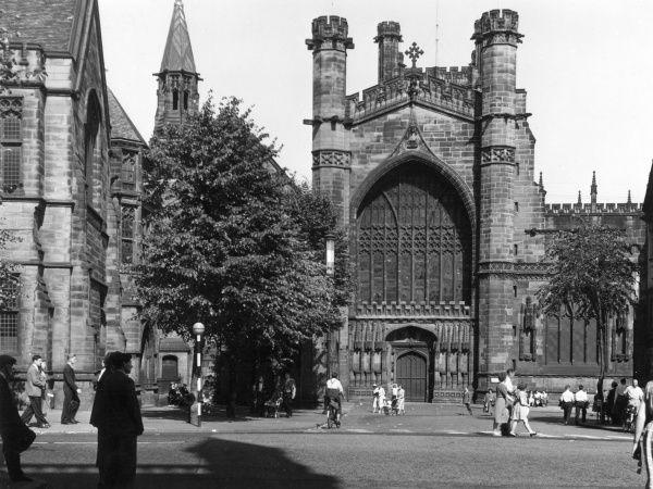 Chester Cathedral was originally a Benedictine monastery, only becoming a cathedral in 1536 on the Dissolution of the Monasteries by Henry VIII Date: Medieval