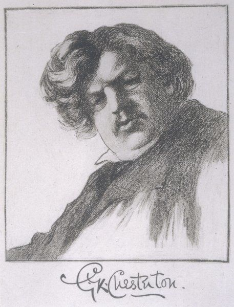 GILBERT KEITH CHESTERTON writer