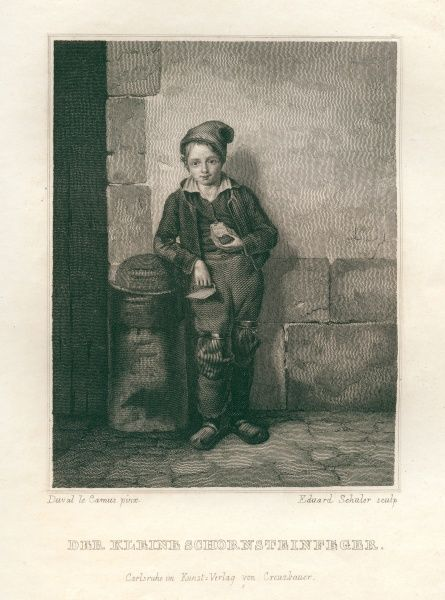 A little chimney sweep.. Date: 1833