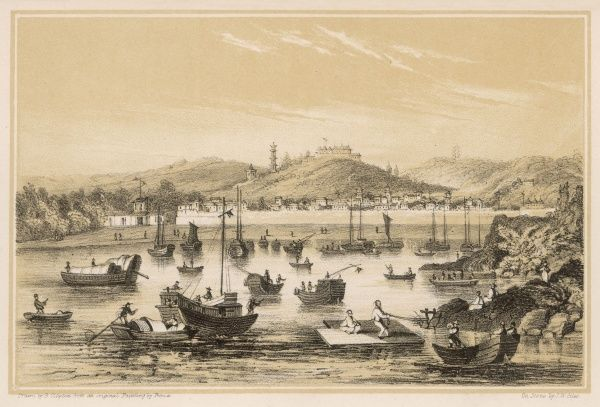 (previously Ning-po, also known as Ning-hsien) One of the first Treaty Ports, opened to European trade in 1842