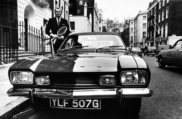 Chris Higham and his Ford Capri GT