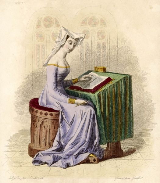 CHRISTINE DE PISAN French writer