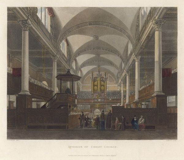 The Chapel of Christ's Hospital, London