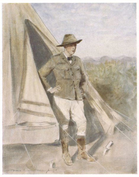 WINSTON CHURCHILL British statesman and author as a Boer War correspondent