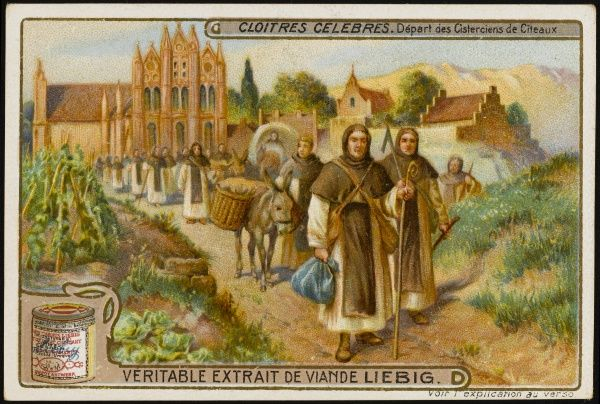 The abbaye de Citeaux is a Cistercian foundation near Beaune, in Burgundy. It was founded in 1098 by Robert de Molesme, who became a saint