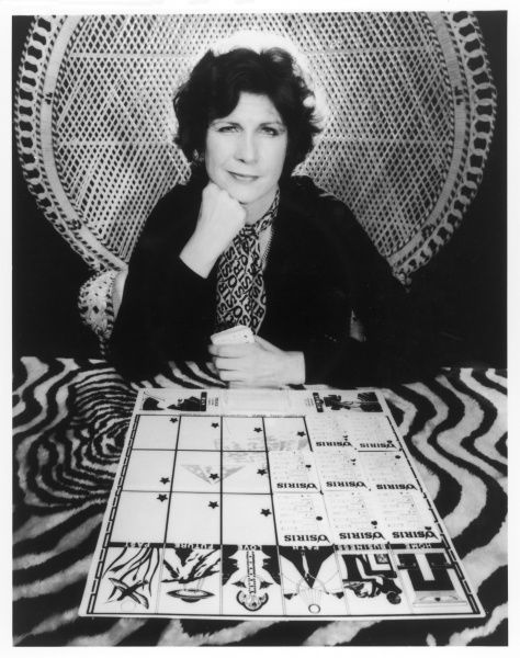 BEVERLY CRAIG, a present-day clairvoyant, tells you your fortune with the aid of her 'Osiris' board