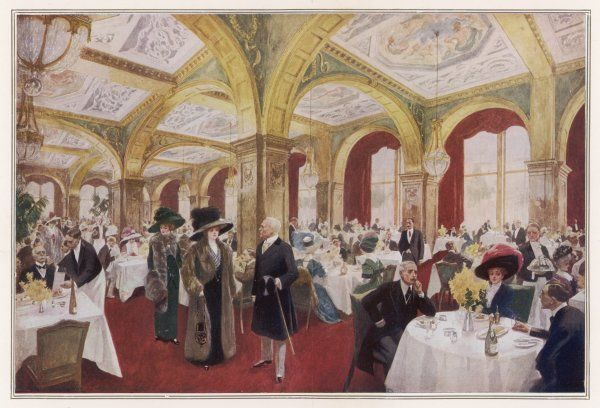 Dining at CLARIDGE'S HOTEL, Brook Street, is apt to be pricey - dinner could set you back anything from ten shillings and sixpence to twelve shillings and sixpence