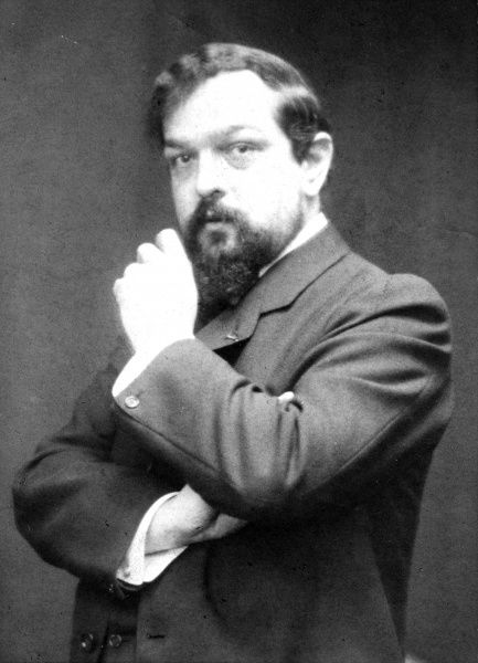 Photographic portrait of Claude Debussy (1862-1918), the French composer, date unknown