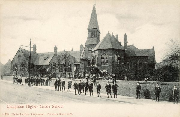 Claughton Higher Grade School, Turnham Green, south-west London
