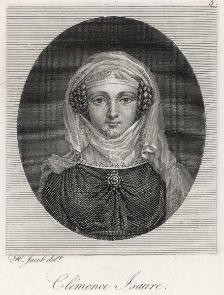 CLEMENCE ISAURE - charming lady of Toulouse who encouraged poetry ('le gai savoir') and floral games, but unfortunately she probably existed only in legend !