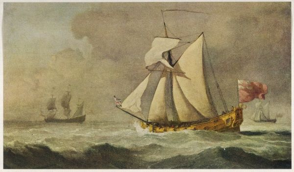 Royal yacht of Charles II, one of whose mistresses was the Duchess of Cleveland, hence the name of this vessel