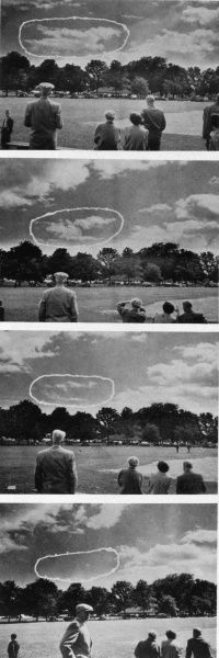 Rolf Alexander demonstrates his astonishing ability to make clouds disperse, simply by using the power of the human mind ! Date: 12 September 1954