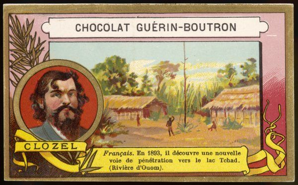 CLOZEL French explorer who in 1893 discovered a new route to Lake Tchad via the Ouom River