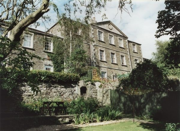 The main building of the former Clutton Union Workhouse, Temple Cloud, Somerset Date: 2000