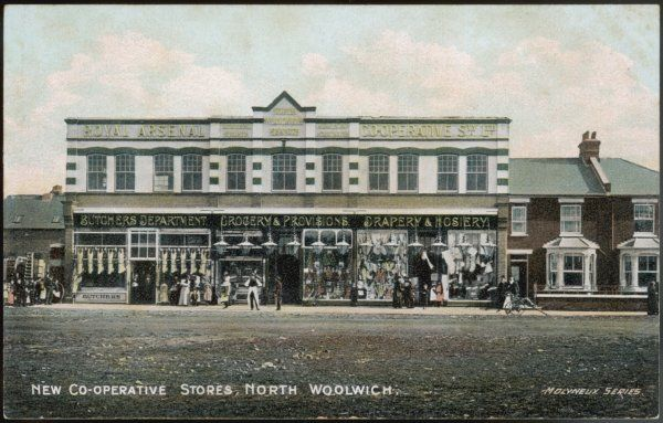 The Co-operative stores at North Woolwich, London