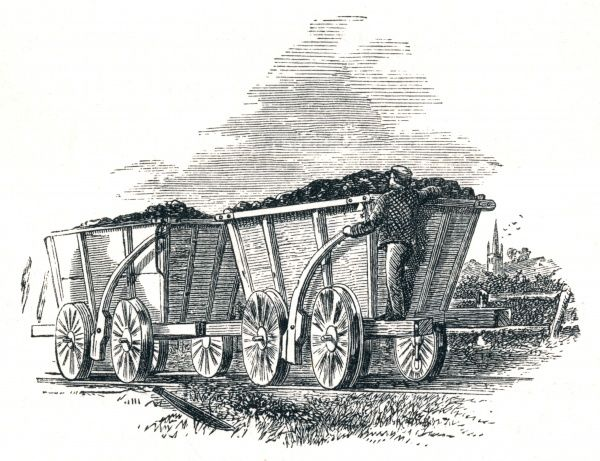 Coal wagons Date: 19th Century