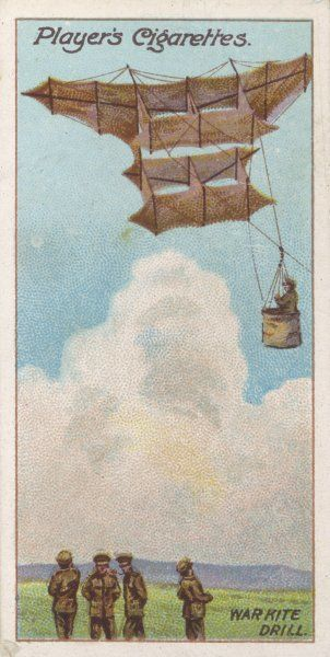 Cody's military kite was tested by the Royal Navy as a communications device