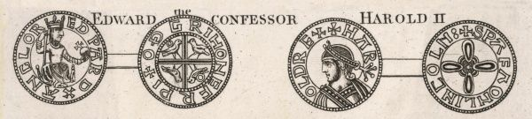 Coins of Edward the Confessor and Harold II