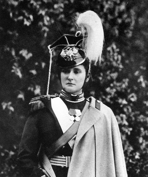 Colonel-In-Chief of Russian Lancers: The Empress of Russia