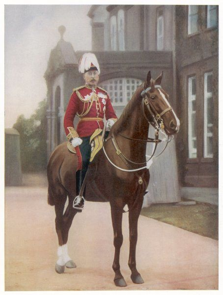 ARTHUR DUKE OF CONNAUGHT 3rd son of Victoria, on his horse