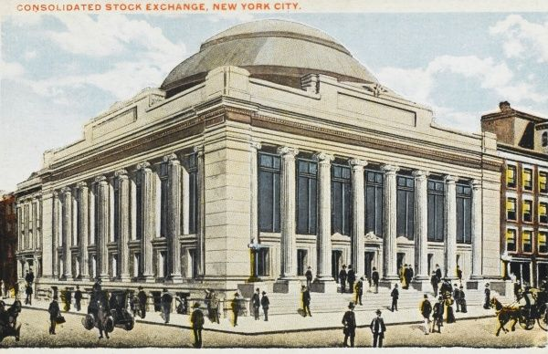 Consolidated Stock Exchange, New York City, America