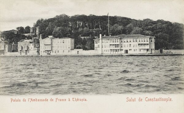 The Palace of the Ambassdor to France at Therapia