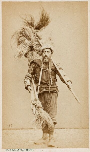 Constantinople, Turkey - Chimney Sweep