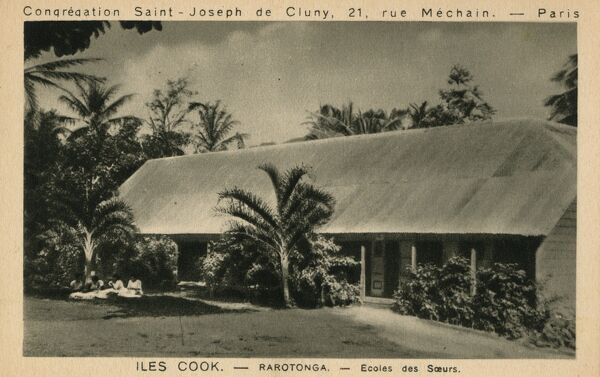 Cook Islands - Rarotonga Island - Pacific Ocean. The Saint Joseph Mission of Cluny in Paris Sisters School