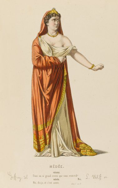 'MEDEE' The character of Medee (Medea) Date: first performed 1635