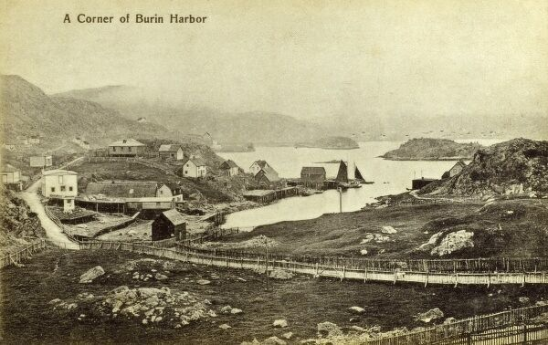 A Corner of Burin Harbour, Newfoundland and Labrador Date: circa 1910s