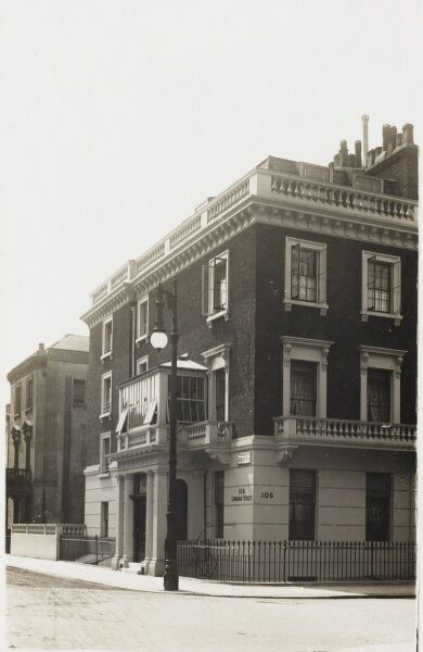 Corner of Sussex Street and Cambridge Street, Pimlico, London
