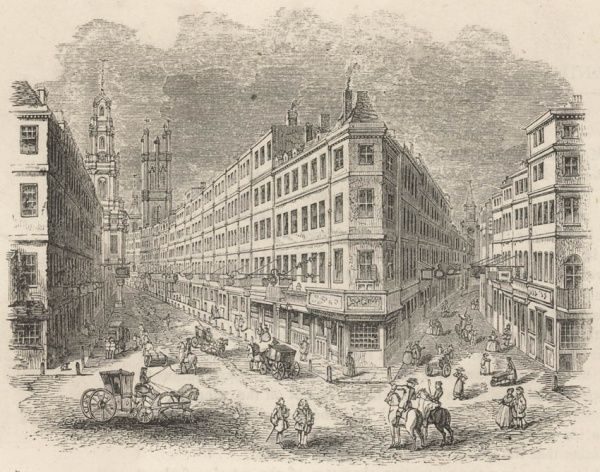 Cornhill, the Exchange and Lombard Street