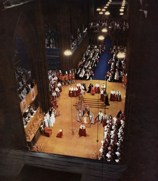 The great solemnity of the Coronation of Queen Elizabeth II