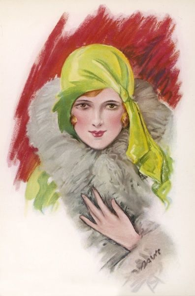 Lady in a cloche