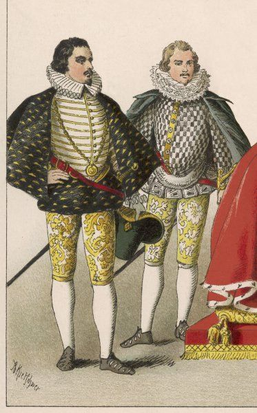 Noblemen during the reign of Queen Elizabeth I