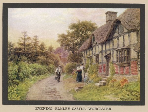 Cottage at Elmley Castle, Worcestershire