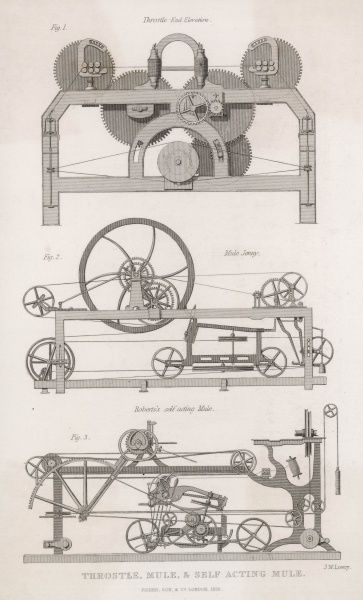 Crompton and Roberts cotton machinery