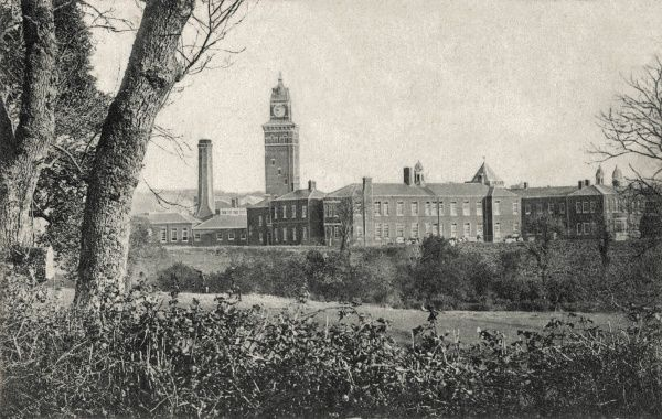 The Isle of Wight County Lunatic Asylum was opened in 1896 at Sandy Lane, Newport, Isle of Wight. It later became the Isle of Wight County Mental Hospital and then Whitecroft Hospital