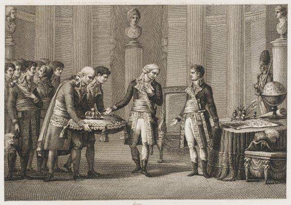 Cambaceres invites Napoleon to become First Consul. Napoleon accepts graciously