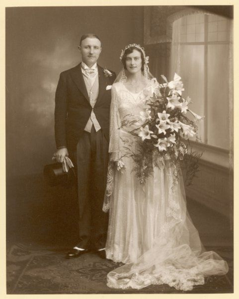 The happy pair : an unidentified couple from Stafford, England