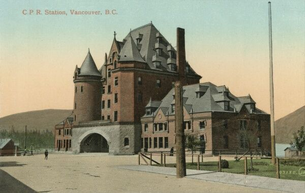 Canadian Pacific Railway Station - Vancouver, British Columbia, Canada