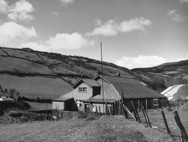 Cranny Falls Youth Hostel, near Carnlough, County Antrim, Northern Ireland. Date: 1930s