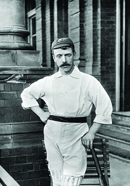 J. BURNS CRICKETER - LANCASHIRE AND ESSEX