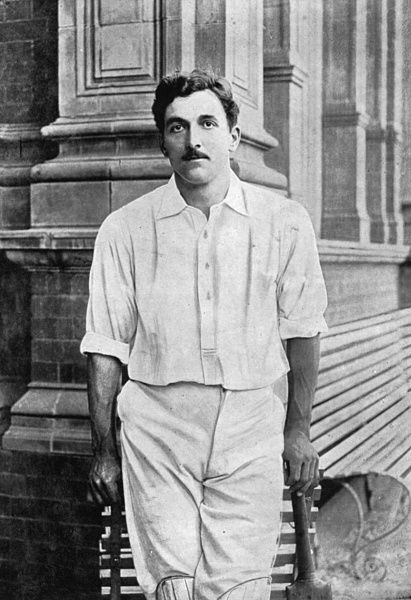C.B. FRY CRICKETER - SUSSEX