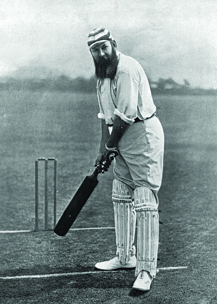 W.G. GRACE CRICKETER - GLOUCESTERSHIRE