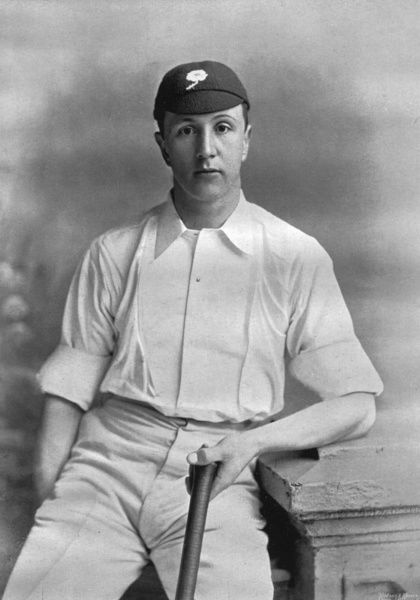 FRANK MITCHELL CRICKETER - YORKSHIRE