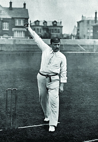 GEORGE NICHOLS CRICKETER - GLOUCESTERSHIRE